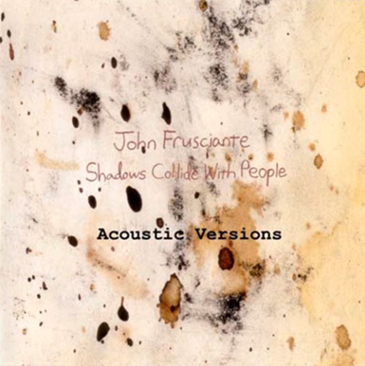 Shadows Collide With People - Acoustic