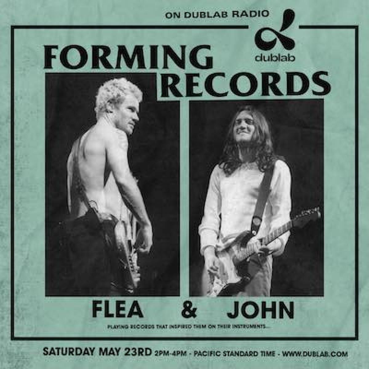 Flea & John Dublab Radio samedi 23/05