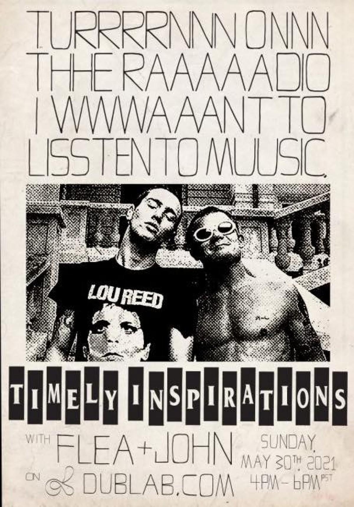 Flea & John de retour sur dublab