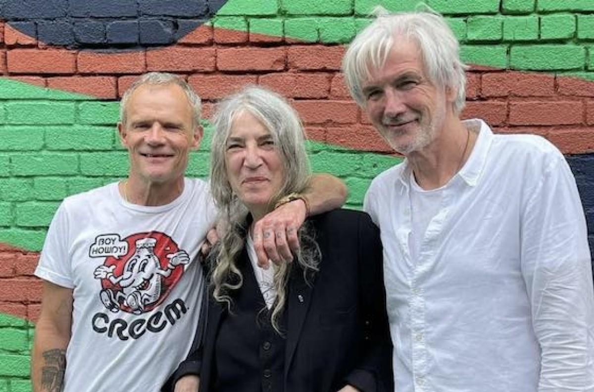 Flea & Patti Smith @ The Ford in Los Angeles