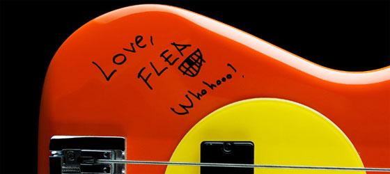 Flea en dédicace à Londres le 17/12 !