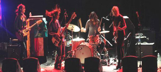 Concerts Warpaint en France