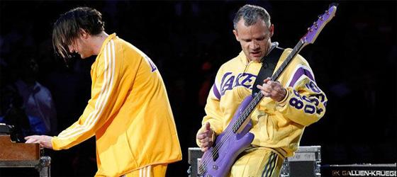 L\'histoire d\'amour Flea / L.A Lakers