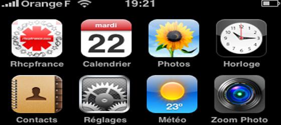RhcpFrance sur votre mobile