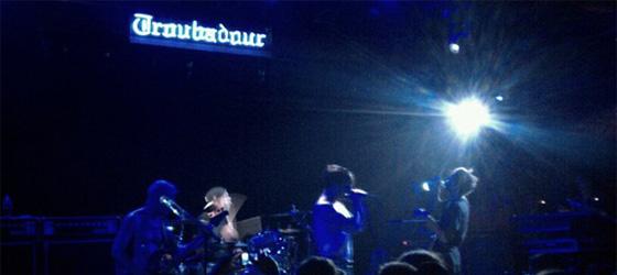4eme concert privé :The Troubadour