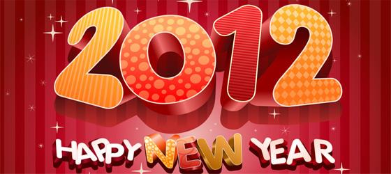 Bonne Année / Happy New Year 2012