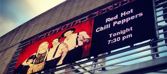 Compte rendu concert Houston 20/10/2012