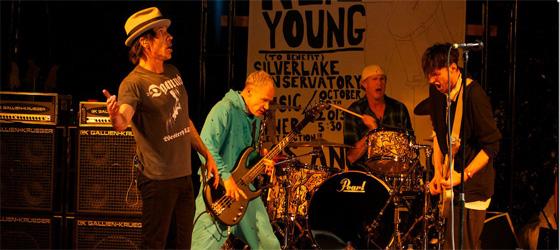 Neil Young Rock Silverlake Conservatory