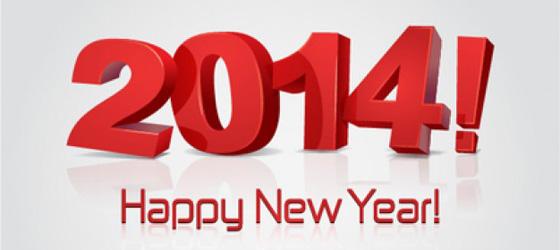 Bonne Annee / Happy New Year 2014