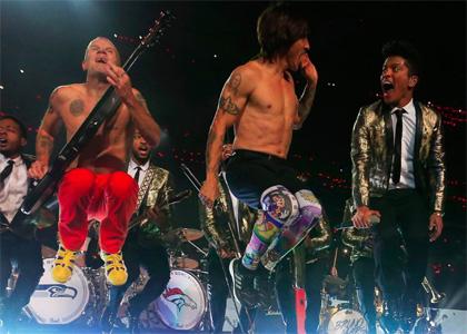 Super Bowl XLVIII 2014 - Bruno Mars & RHCP
