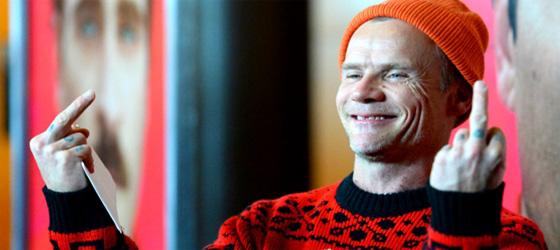 Autobiographie de Flea en cours d\'écriture