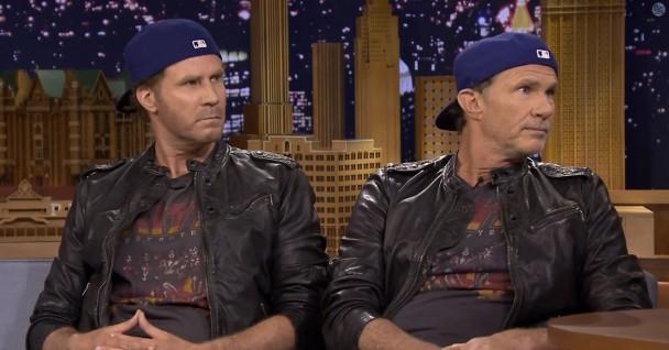 Le duel Will Ferrel / Chad Smith