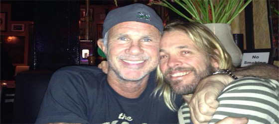 Chad Smith & Foo Fighters