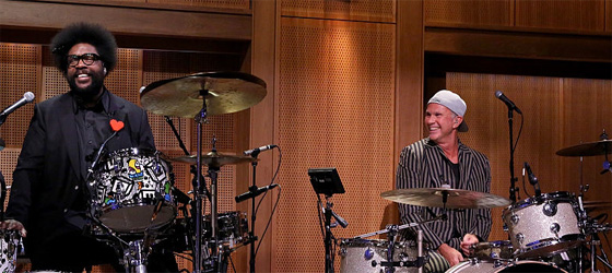 Chad Smith au Tonight Show Starring