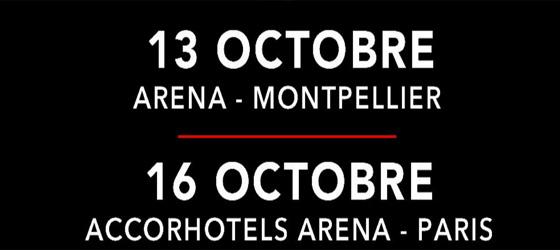 Concerts RHCP 2016 Paris & Montpellier