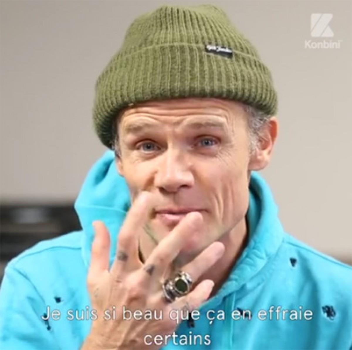 Interview Flea par Konbini