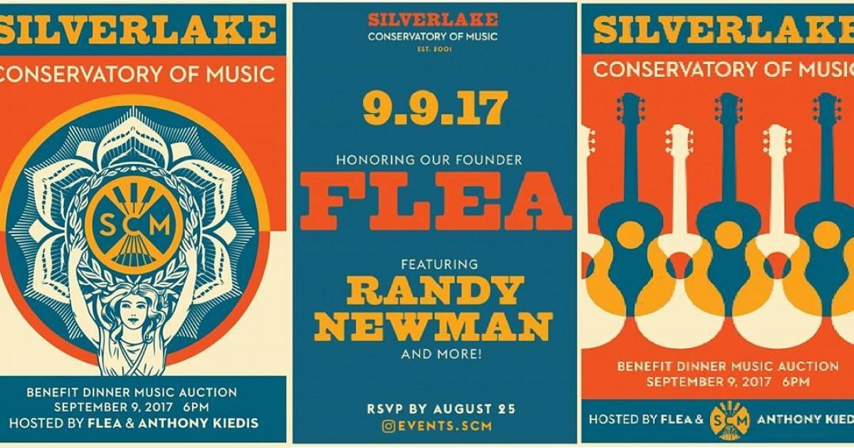Concert RHCP au Silverlake 09/09/2017