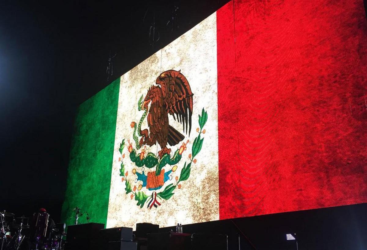 Compte rendu concert @ Mexico #2 11.10.2017