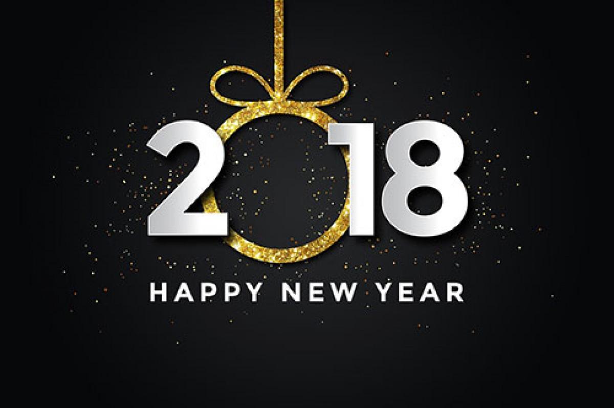 Bonne Année / Happy New Year 2018