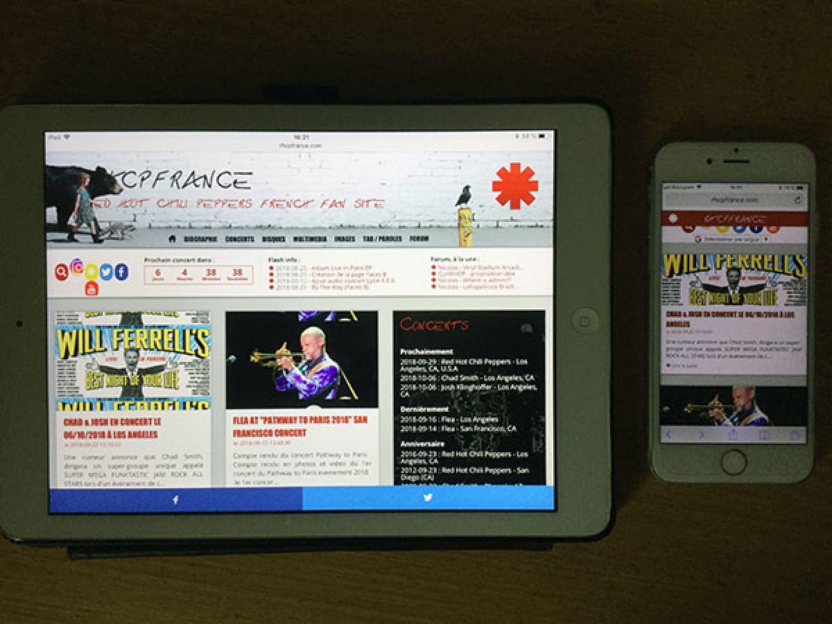 Rhcpfrance sur smartphones & tablettes