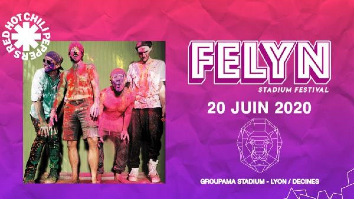 Nouvelles places disponibles pour le concert des RHCP à Lyon